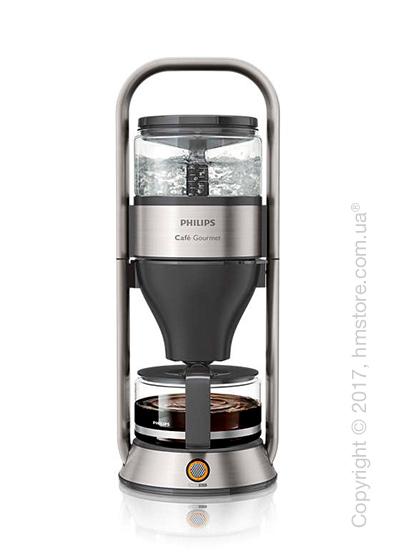 Кофеварка Philips Cafe Gourmet Coffee Maker, Black and Steel