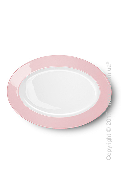 Блюдо для подачи Dibbern коллекция Solid Color, 29 см, Powder pink