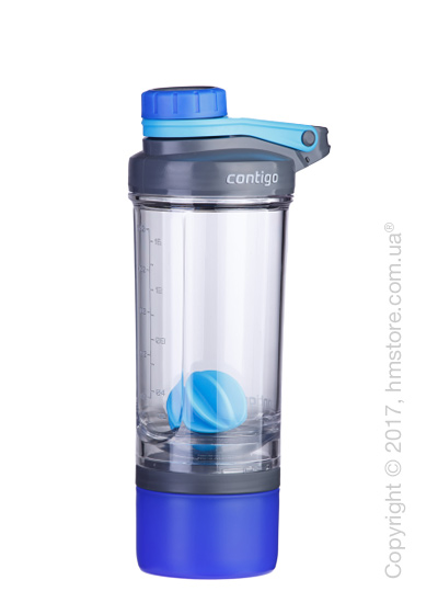 Шейкер Contigo Shake & Go FIT Compartment, Blue 650 мл