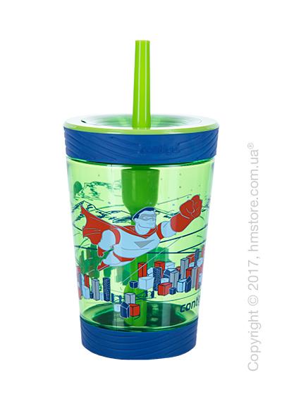 Стакан для воды детский Contigo Spill Proof Tumbler, Granny Smith Hero 420 мл