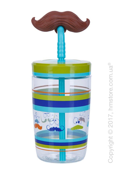 Стакан для воды детский Contigo Funny Straw, Blue