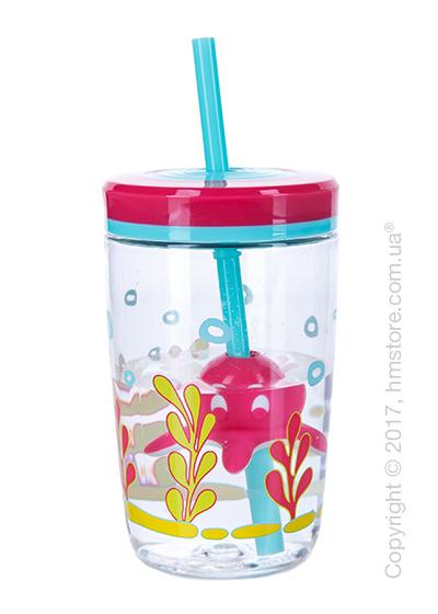 Стакан для воды детский Contigo Floating Straw Tumbler, Pink