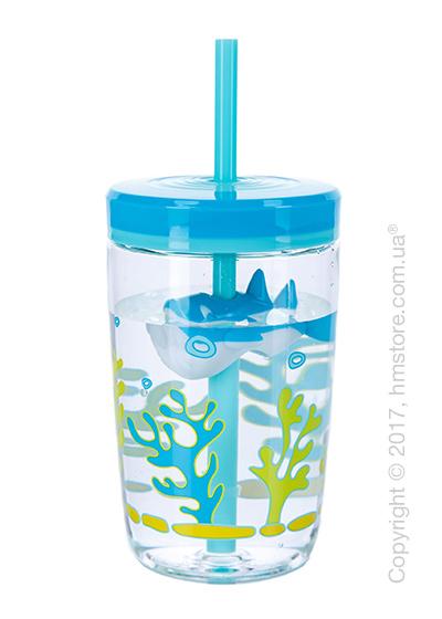 Стакан для воды детский Contigo Floating Straw Tumbler, Blue