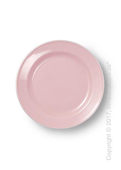 Тарелка десертная мелкая Dibbern коллекция Solid Color, 19 см, Powder pink