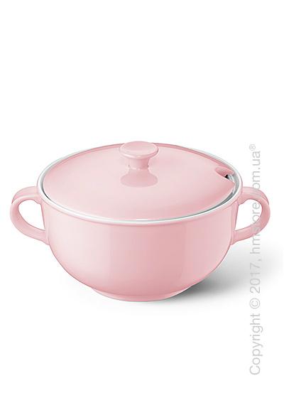 Супница с крышкой Dibbern коллекция Solid Color, 2,4 л, Powder pink