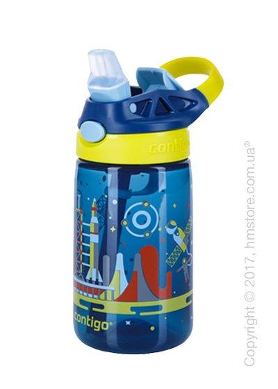 Детская фляга Contigo Gizmo Flip, Nautical Space 420 мл