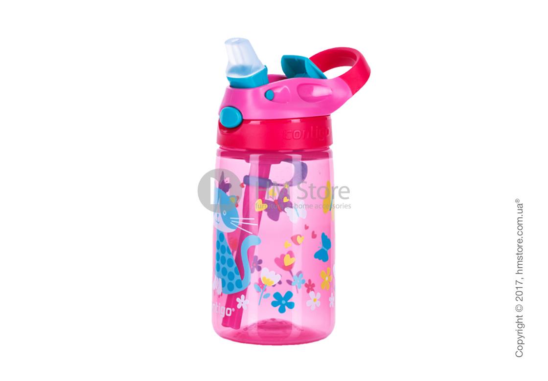 Детская фляга Contigo Gizmo Flip, Cherry Cat 420 мл