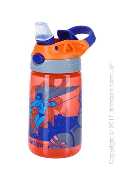 Детская фляга Contigo Gizmo Flip, Tangerine Superhero 420 мл