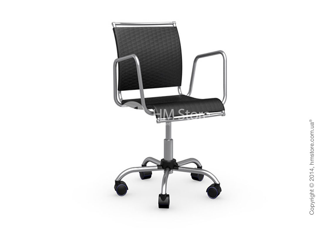 Кресло Calligaris Air Race, Swivel chair, Net coating black