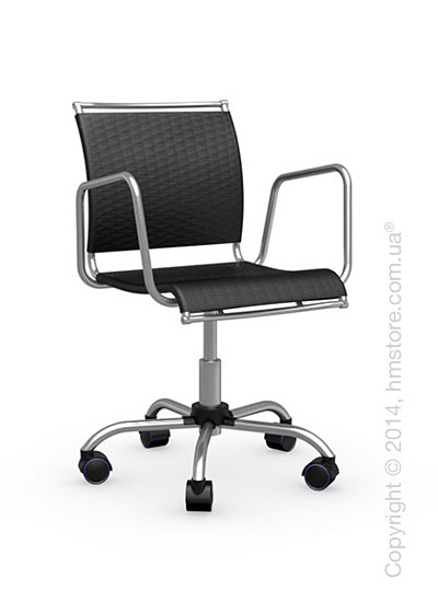 Кресло Calligaris Air Race, Swivel chair, Net coating black