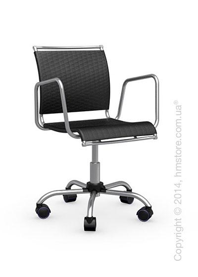 Кресло Connubia Air Race, Swivel chair, Net coating black