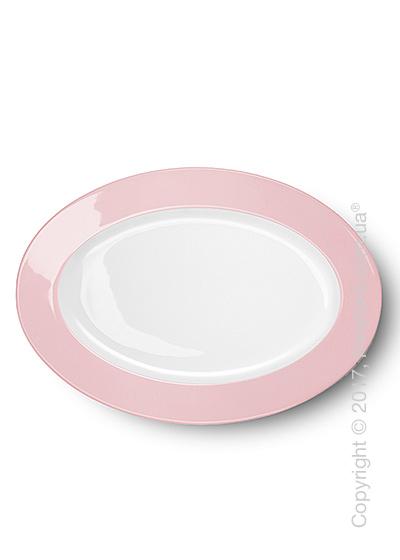 Блюдо для подачи Dibbern коллекция Solid Color, 33 см, Powder pink