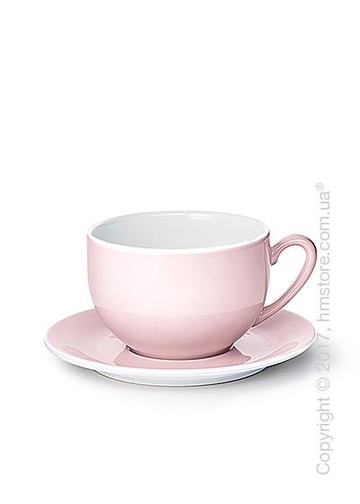 Чашка с блюдцем Dibbern коллекция Solid Color, 600 мл, Powder pink