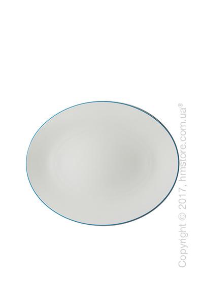 Блюдо для подачи Dibbern коллекция Simplicity, 32 см, Blue