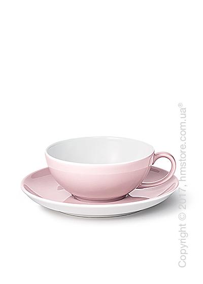 Чашка с блюдцем Dibbern коллекция Solid Color, 220 мл, Powder pink