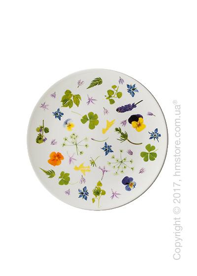 Тарелка десертная мелкая Dibbern коллекция Wild Herbs, 21 см