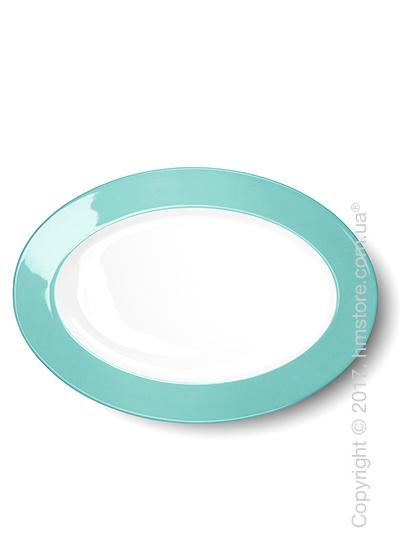 Блюдо для подачи Dibbern коллекция Solid Color, 33 см, Seawater Green