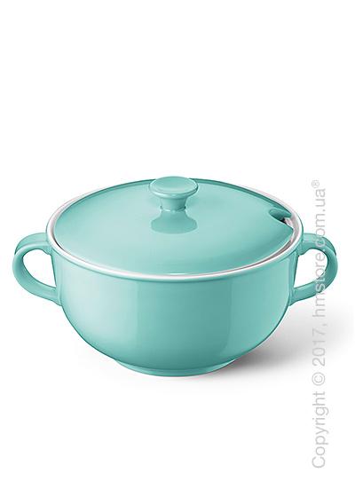 Супница с крышкой Dibbern коллекция Solid Color, 2,4 л, Seawater Green