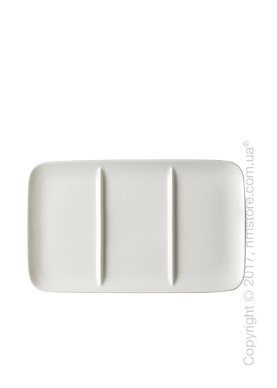 Блюдо для подачи закусок Dibbern коллекция Pure, 15х25 см