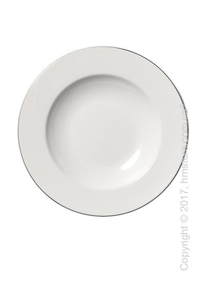 Тарелка столовая глубокая Dibbern коллекция Platin Line, 23 см