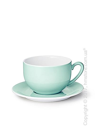 Чашка с блюдцем Dibbern коллекция Solid Color, 600 мл, Seawater Green