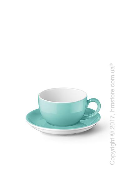 Чашка для эспрессо с блюдцем Dibbern коллекция Solid Color, 100 мл, Seawater Green