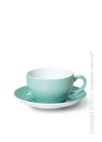 Чашка с блюдцем Dibbern коллекция Solid Color, 250 мл, Seawater Green