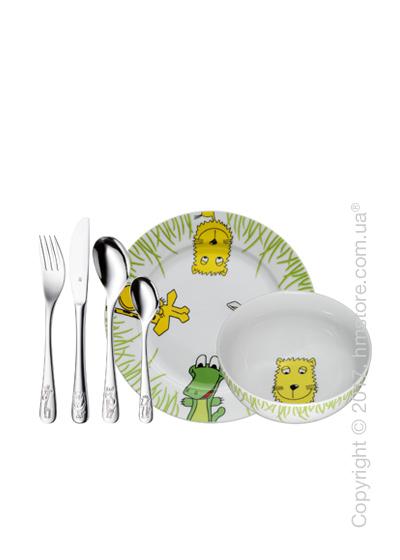 Набор детской посуды WMF коллекция Safari, 6 предметов