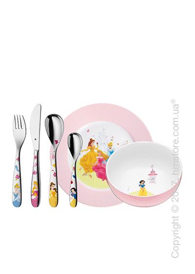 Набор детской посуды WMF коллекция Disney Princess, 6 предметов