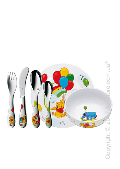 Набор детской посуды WMF коллекция Winnie The Pooh, 6 предметов