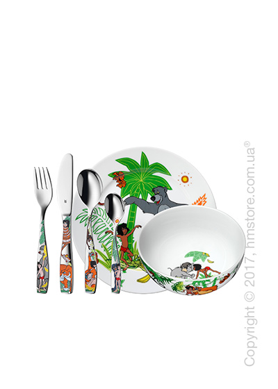 Набор детской посуды WMF коллекция Jungle Book, 6 предметов