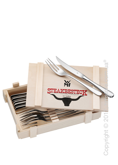 Набор приборов для стейка WMF коллекция Gift Idea, 12 предметов