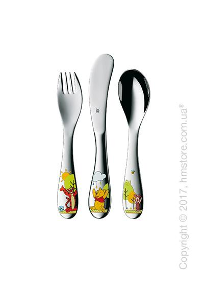 Набор столовых приборов детский WMF коллекция Winnie The Pooh, 3 предмета