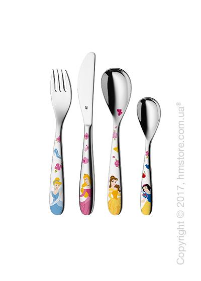 Набор столовых приборов детский WMF коллекция Disney Princess, 4 предмета