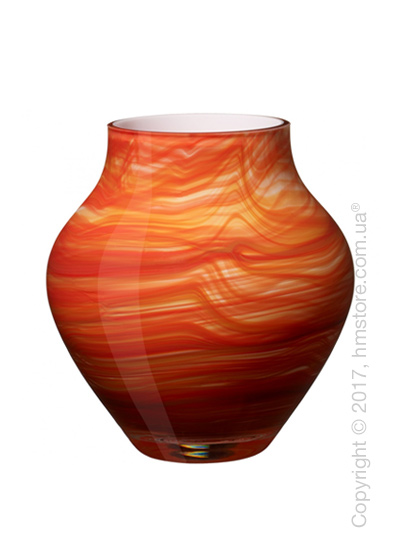 Ваза Villeroy & Boch коллекция Oronda, Red, 17 см