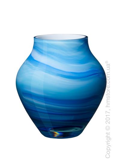 Ваза Villeroy & Boch коллекция Oronda, Blue, 17 см