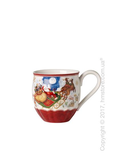 Чашка Villeroy & Boch коллекция Toy's Fantasy, 450 мл, Santa's Flight