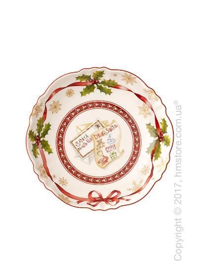 Тарелка десертная мелкая Villeroy & Boch коллекция Toy's Fantasy, 16 см, Christmas List