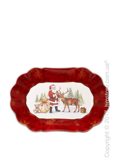 Блюдо для подачи Villeroy & Boch коллекция Toy's Fantasy, 29х19 см, Santa