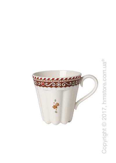 Чашка Villeroy & Boch коллекция Winter Bakery Delight, 380 мл, Gingerbread