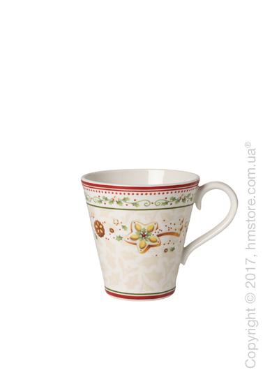 Чашка Villeroy & Boch коллекция Winter Bakery Delight, Falling Star, 380 мл