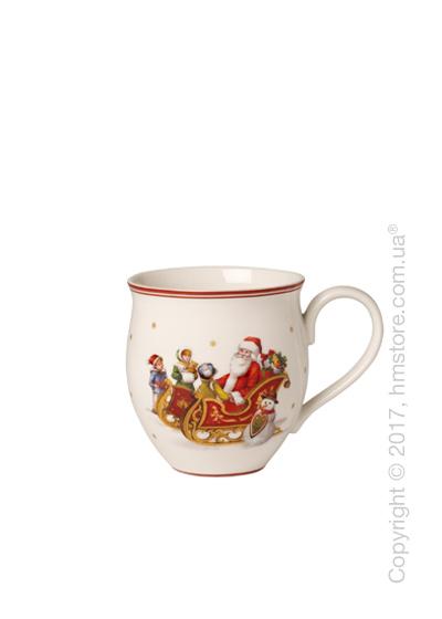 Чашка Villeroy & Boch коллекция Toy's Delight, 340 мл, Santa's Sleigh Ride
