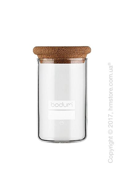 Емкость для сыпучих продуктов Bodum Yohki 1 л, Cork