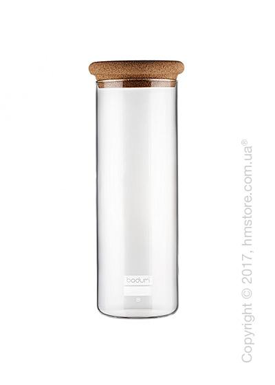 Емкость для сыпучих продуктов Bodum Yohki 1,9 л, Cork