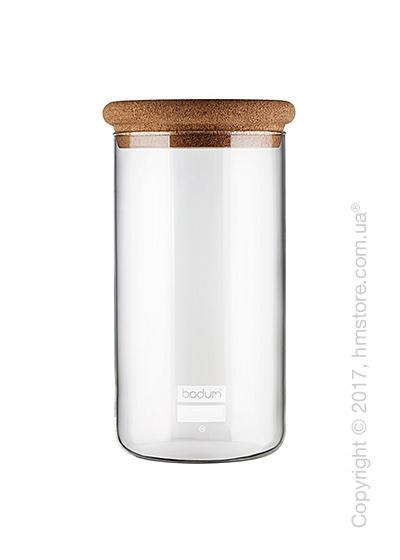 Емкость для сыпучих продуктов Bodum Yohki 2 л, Cork