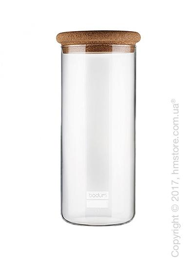 Емкость для сыпучих продуктов Bodum Yohki 2,5 л, Cork