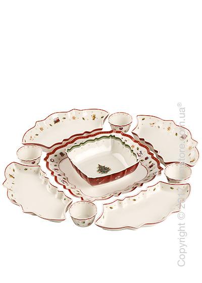 Набор фарфоровой посуды Villeroy & Boch коллекция Toy's Delight, 10 предметов