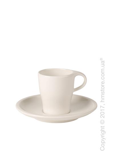 Чашка с блюдцем Villeroy & Boch коллекция Coffee Passion, 90 мл