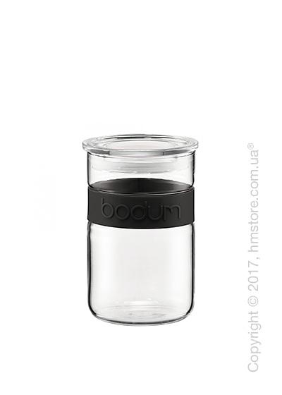 Емкость для сыпучих продуктов Bodum Presso 600 мл, Black