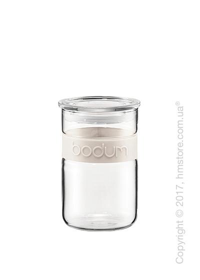 Емкость для сыпучих продуктов Bodum Presso 600 мл, White
